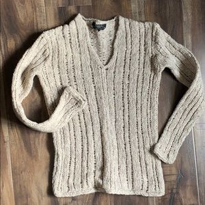 😍MAX MARA WEEKEND Wool Cable Sweater😍